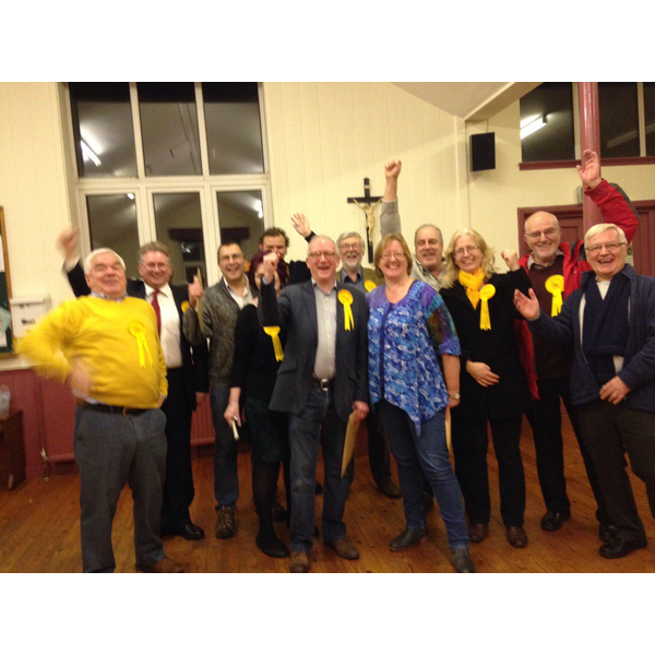Victory in Bovey & Chudleigh