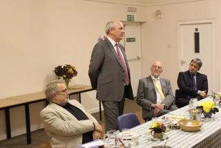 Sir NIck Harvey MP addresses Central Devon Lib Dems