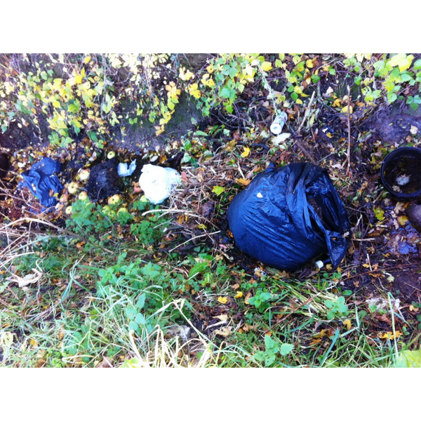 Rural fly tipping