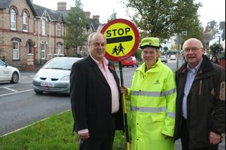 Devon Lib Dem Councillors with Lollipop Lady