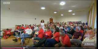 Alison Eden Speaks out at Ashburton Fire Station Protest Meeting