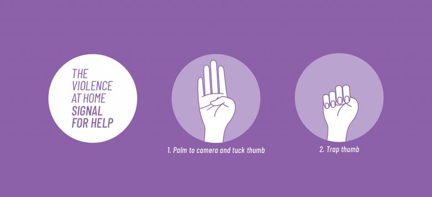 'Please help me' visual signs